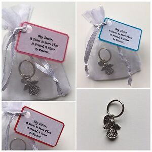 Guardian Angel Keepsake Gift More Than A Friend A Sister Is