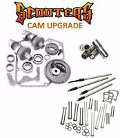 583g S&s Gear Drive Cams Set Pushrods Lifters Engine Kit Harley 88 Twin Cam