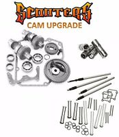 551g S&s Gear Drive Cams Set Pushrods Lifters Engine Kit Harley 88 Twin Cam