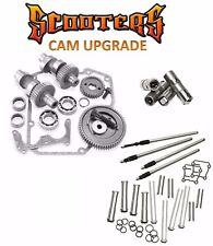 """585G S&S Gear Drive Cams Set Pushrods Lifters Engine Kit Harley 88"""" Twin Cam"""