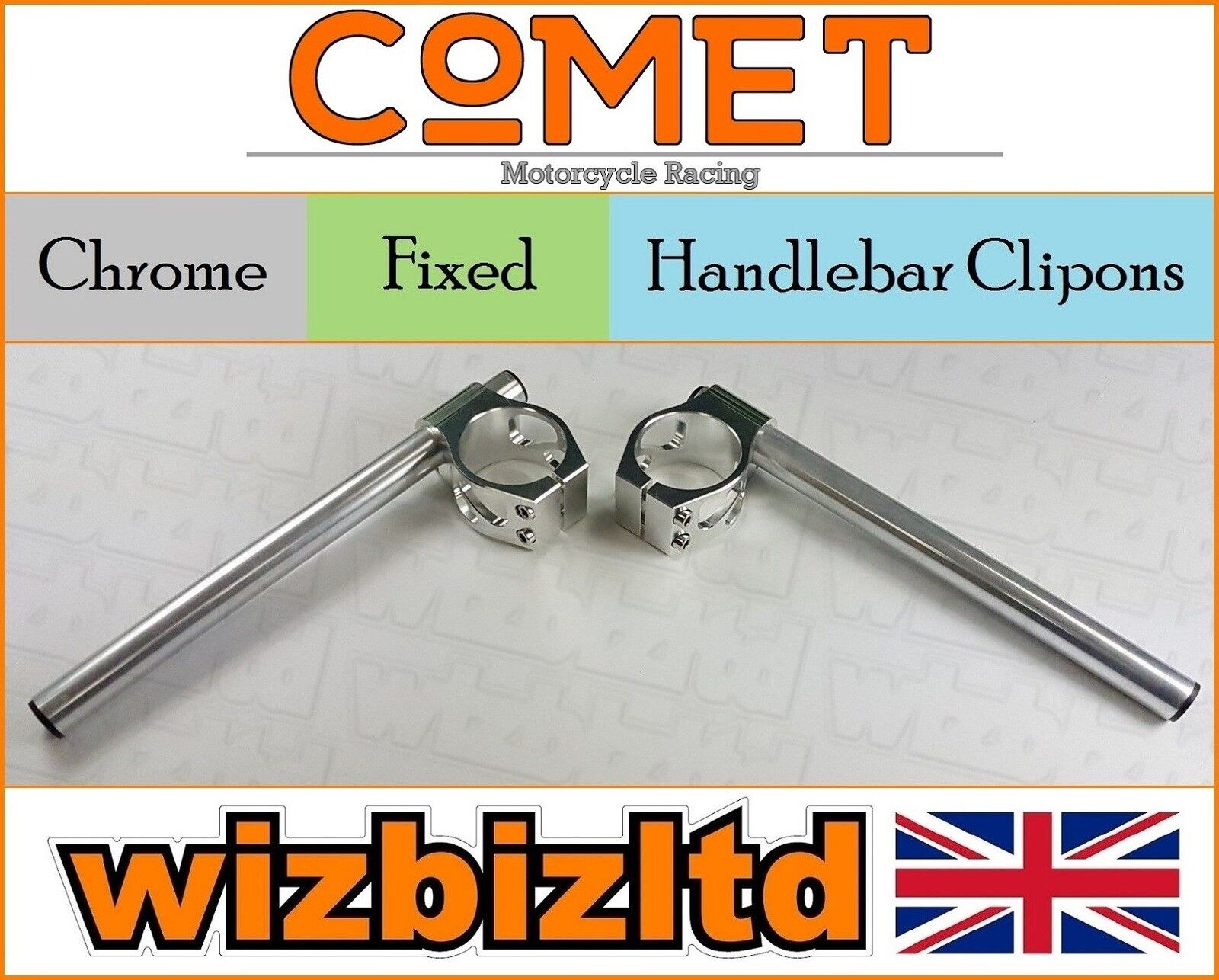 Comet Chrom 54mm Lenker Clip Buell 1125 Jedes Bj. Hc54ch   just for you