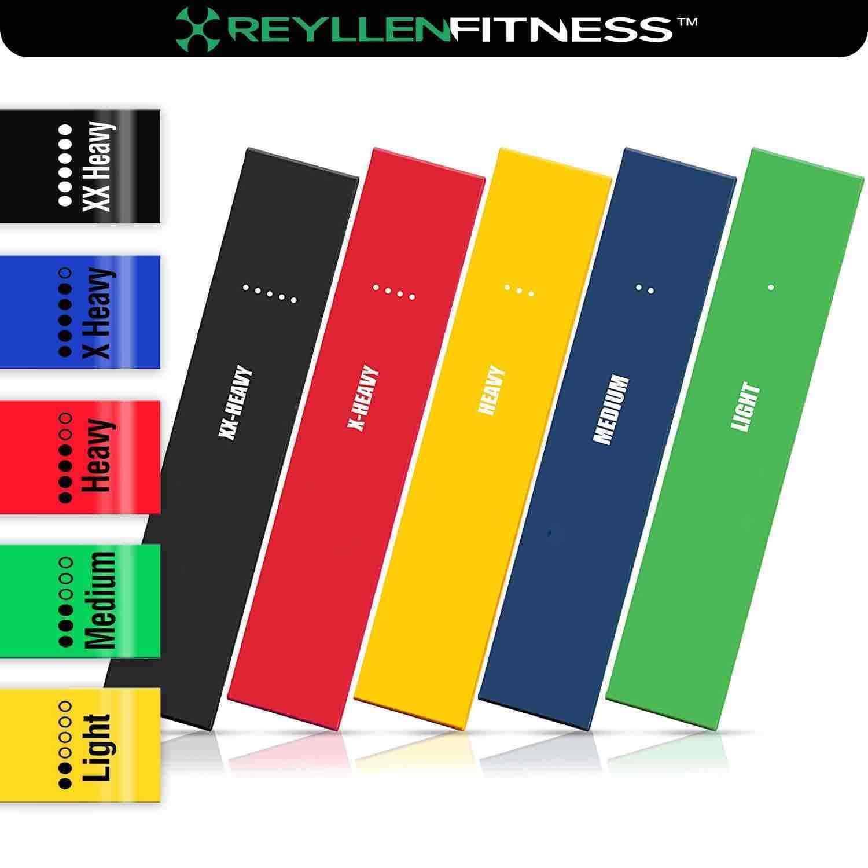 5 niveaux de résistance Boucle Band Yoga Fitness Crossfit Crossfit Crossfit Pilates Workout Gym Booty UK e4ea68