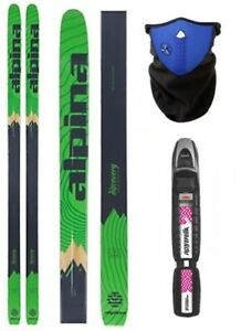 NEW ALPINA DISCOVERY Metal BC Back Cross Country SKIS BINDINGS - Alpina discovery skis