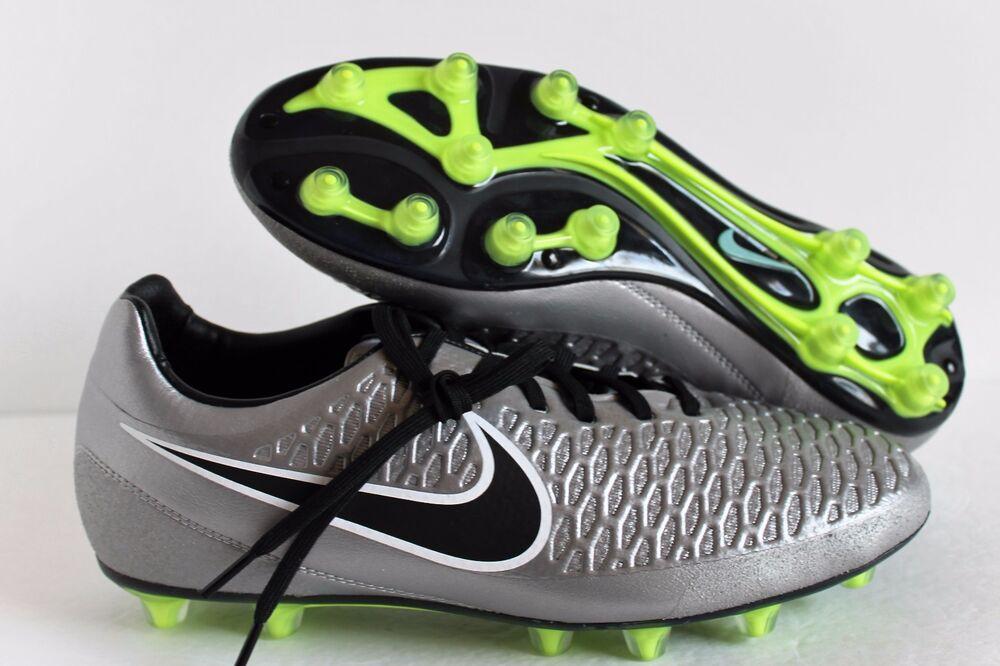 Nike Magista Football Opus HG-E Soccer Cleats Football Magista Chaussures 649231-010 metallic silver 9 Chaussures de sport pour hommes et femmes d0d4b7