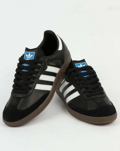 bb9406a0f adidas Samba Original Trainers OG Shoes Black White Gum Special ...