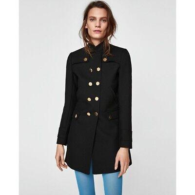 MILITARY STYLE COAT from Zara