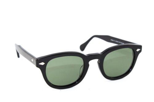 Occhiali da Sole Sun Lovers nero lenti verde polarizzate stile moscot 8004