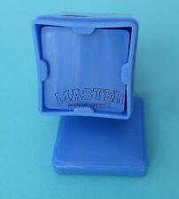 "Gauze Dispenser Holder BLUE 2""X2"" Sponge Plastic Spring System Dental Surgical"