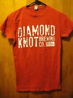 DIAMOND KNOT Brewing Co 1994 Washington State Craft Beer T Shirt Ladies Medium