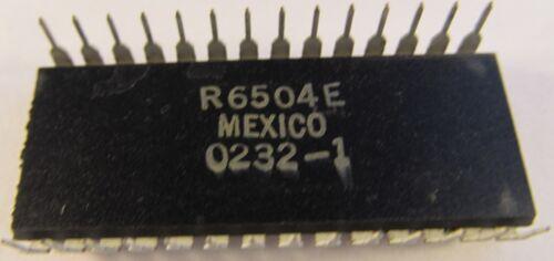 A14//9536 DIP Gehäuse 6504-13 ROCKWELL Mikroprozessor R6504AP CPU im 28pol