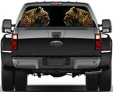 Jaguar  Rear Window Graphic Decal for Truck SUV Vans