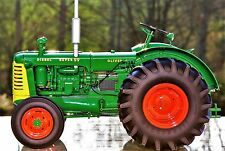 Oliver Farm Tractor 1950s Vintage Super Machinery 1 12 Model Diecast 99