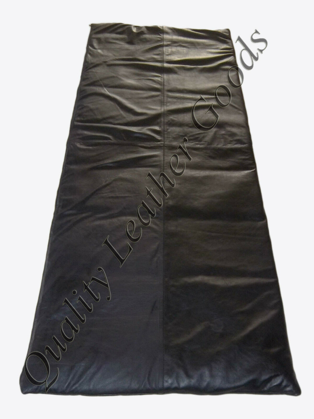 SYNTHETIC LEATHER SLEEPING BAG CAMPING BAG SOFT LUXURY COMFORTABLE ENVELOPE ZIP