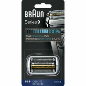 Braun-92S-Series-9-Replacement-Shaver-Head-Silver-100-ORGINAL