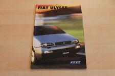 79695) Fiat Ulysse Prospekt 02/2001
