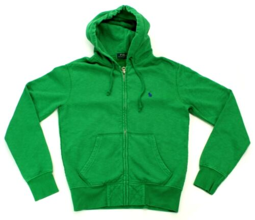 Size £120 Lauren Hoodie Extra Mens Green Pea Zip Xs Ralph Up Small Rrp T0Y47wn