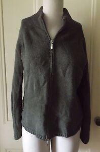 Kleidung & Accessoires UnermüDlich Damen Berretti Wolle Reißverschluss Stehkragen Strickjacke Jacke Sweatshirt