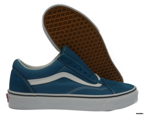 Vn0a38g1u60 Old 8 WhiteUomo Vans Skoolcorsair BlueTrue mNn0wO8v
