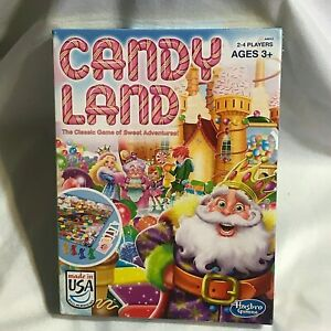 Candy Land The Classic Game of Sweet Adventures by Hasbro Kings Castle SEALED