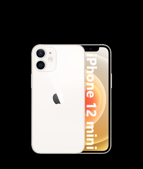 iPhone: Apple iPhone 12 mini 5G 128GB NUOVO Originale Smartphone iOS 14 WHITE bianco
