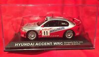 Mint Condition Hyundai Accent Wrc 1:43 Scale Diecast Model Rally Car 21