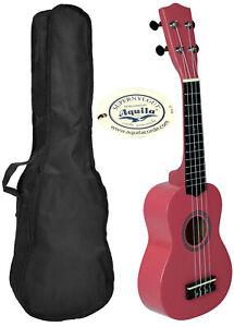 Ukelele-LANAI-color-Rosa-con-Funda-Diapason-Granadillo-Ukulele-Soprano-madera