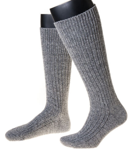 """Art Mouton Chaussettes Laine /""""norvégiens/"""" wadenlang 3 paire Made in Germany"""