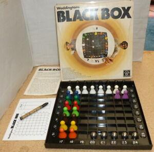 Vintage-WADDINGTONS-BLACK-BOX-Game-100-Complete