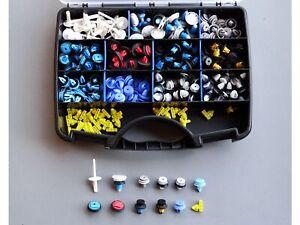 300-Pieces-Porte-Clips-de-Finition-Clips-Rivets-Pour-BMW-Mini-Peugeot-Fiat