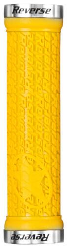 2 Reverse Lenkergriffe Stamp 30 mm in gelb