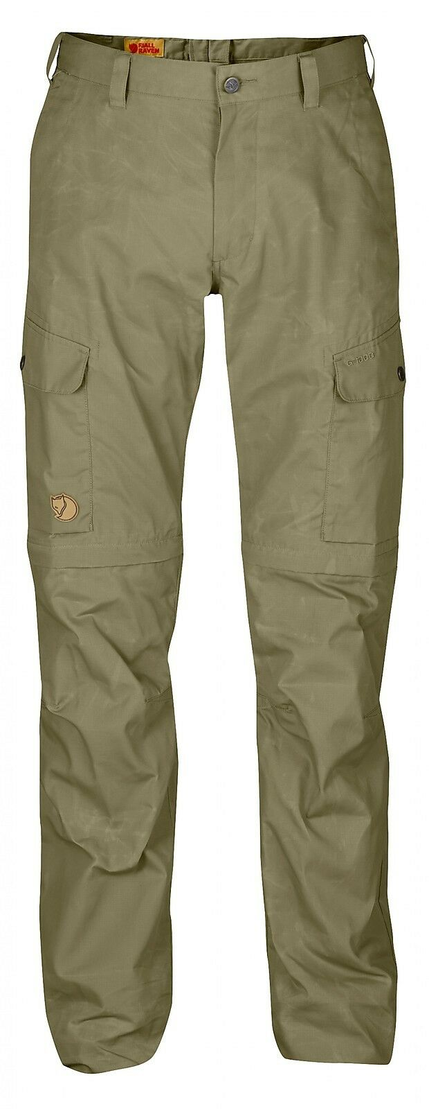 Fjäll räven Ruaha Zip Off Pants Zip-Off Light Khaki Size  44  100% authentic