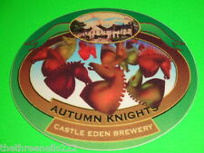 BEER PUMP CLIP - CASTLE EDEN AUTUMN KNIGHTS