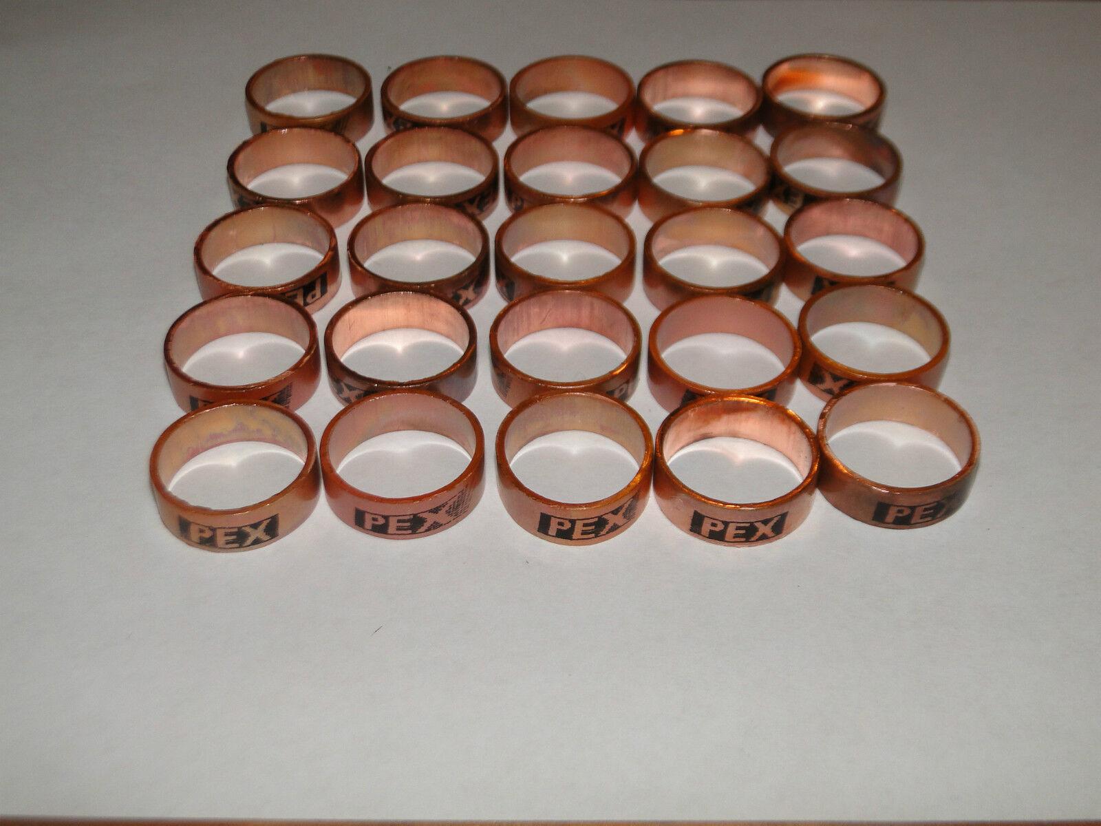 "3//8/"" PEX Copper Crimp Rings USA 649X1 Sioux Chief FREE SHIPPING tubing 25"