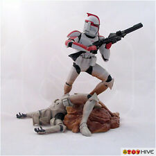 Star Wars Unleashed Red Clone Trooper - loose