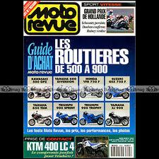 MOTO REVUE N°3095-c TRIUMPH 900 SPRINT YAMAHA XJ 600 S HONDA VFR 750 KTM 400 LC4