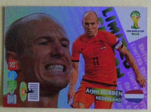 "Panini Adrenalyn WM 2014 brasil /""Limited Edition para escoger/"""