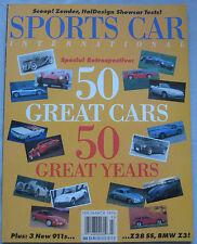 Sports Car International 2-3/1996 featuring Lagonda, Ferrari 512, Porsche, Ascar