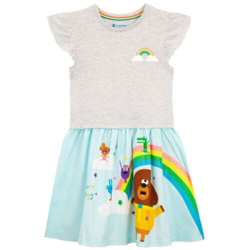 Hey Duggee DressGirls Hey Duggee Squirrel Club DressKids Rainbow Dress