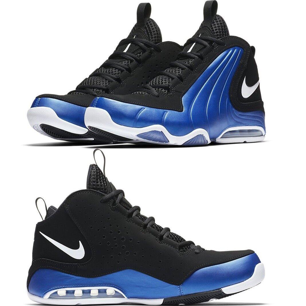 Max Air Nike Ondulé Confortable bleu photo noir Baskets