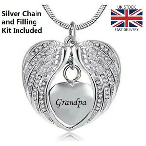 Grandpa-Angel-Wing-Heart-Cremation-Urn-Pendant-Ashes-Necklace-Funeral-Memorial