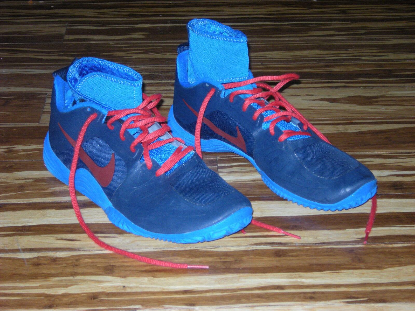 2018 Nike AIR LUNAR KD movimiento BB muestra 9.5 KD LUNAR baloncesto correr trainer Rojo Azul 80508c