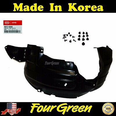 Genuine Kia Parts 86811-4D002 Driver Side Front Fender Splash Shield