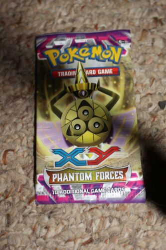Pokemon Phantom Forces Xy Booster Pack NEW Sealed Lot of Ten 10
