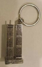 World Trade Center Twin Towers NEW YORK CITY*KEYCHAIN* 9/11 rare..key chain