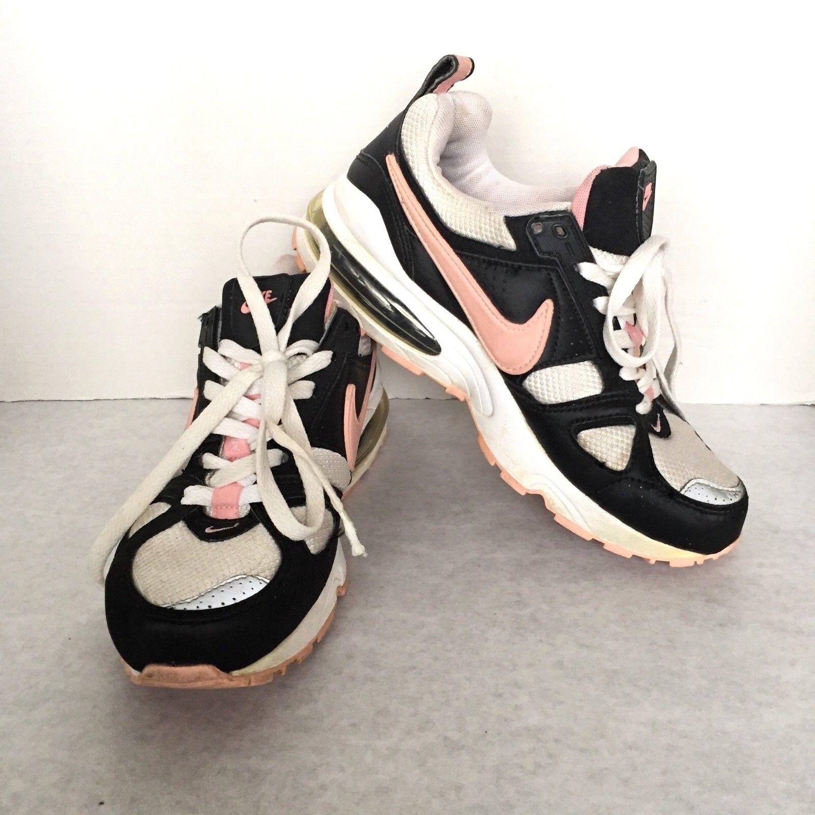 Le maglie nike air max nero rosa bianca in scarpe 7 m