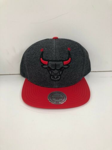 Chicago Bulls Mitchell /& Ness Mens NBA Adjustable Club Snapback Caps New OSFA