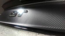 2015 2016 2017 Ford Mustang GT CARBON FIBER Decklid Panel BLACKOUT Trunk Decal