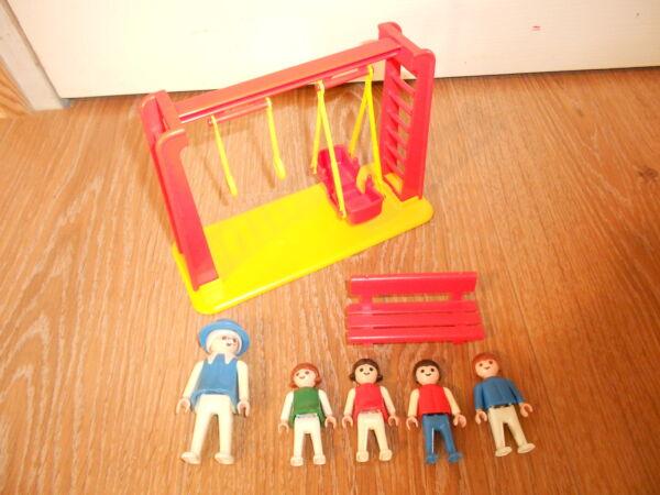Playmobil // Balancoire Portique Enfants Vintage// Ref 3552