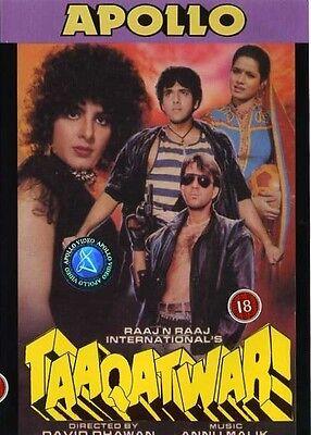 Taaqatwar DVD Sanjay Dutt, Govinda, Anita Raj (BOLLYWOOD) 193
