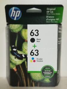HP-63-Black-amp-Tri-color-Original-Ink-Cartridges-2-Pack-L0R46AN-Exp-2021